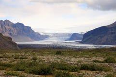 Skaftafell nationalpark iceland Royaltyfria Bilder