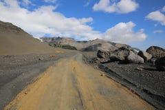 Skaftafell Nationalpark islandia Imagen de archivo