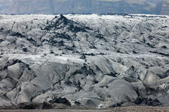 skaftafellsjokull ледника Стоковое Изображение RF