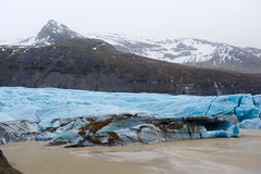 Skaftafellsjokull glacier Royalty Free Stock Photography