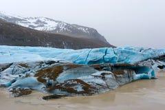 Skaftafellsjokull glacier Stock Image
