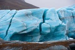 Skaftafellsjokull glacier Stock Photography