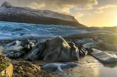 Skaftafellsjokull Glacier, Iceland Royalty Free Stock Photo