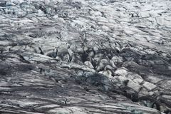 Skaftafellsjokull glacier moraine, Iceland Royalty Free Stock Photos