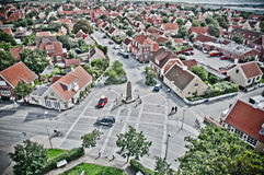 skagen πόλεων Στοκ Εικόνα