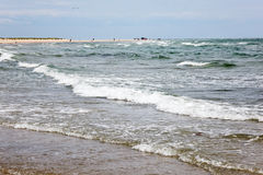 Skagen beach Stock Image