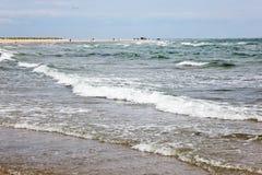 Skagen beach Stock Image