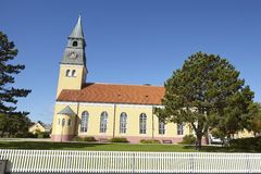 Skagen (Denmark) - Church Royalty Free Stock Image