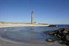 Skagen (Denmark) - Lighthouse Grey Tower Royalty Free Stock Photo