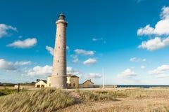 Skagen. A lighthouse by the sea in Skagen in Denmark Royalty Free Stock Photo