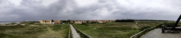 Skagen in the northern part of Denmark Royalty Free Stock Images