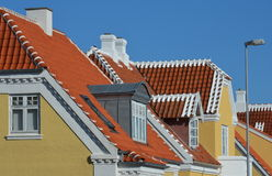 Skagen roofs Stock Images