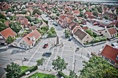Skagen Stadt Stockbild