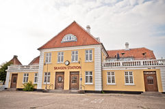 Skagen Station Stockfotografie