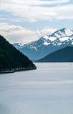 Skageway de départ Photographie stock libre de droits