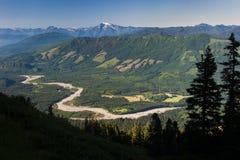 Skagit River Valley Royalty Free Stock Photo
