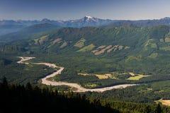 Skagit River Valley Stock Image