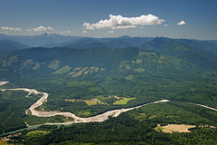 Skagit River Valley Stock Photography