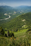 Skagit River Valley Royalty Free Stock Photography