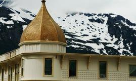 skagway的阿拉斯加 免版税库存图片
