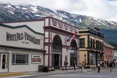 Skagway, Аляска Стоковое фото RF