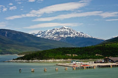 Skagway, Alaska Royalty Free Stock Photography