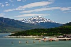 skagway alaska Royaltyfri Fotografi
