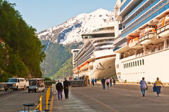 Skagway, Alaska Stock Photography