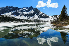 Skagway alaska Stockbilder