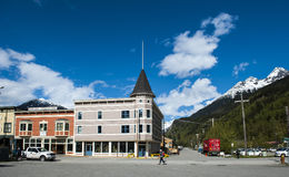 Skagway, Alaska photo stock
