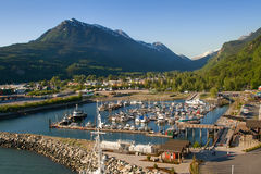 Skagway, Alaska Imagenes de archivo