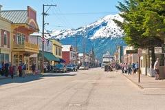 Skagway, Alaska Stock Images