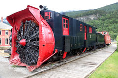 The Skagway Snowplough Royalty Free Stock Photo