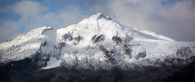 Skagway szczytu panorama Obrazy Stock
