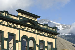 Skagway Town Skyline Stock Photography