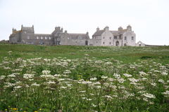 Skaill house. Fine mansion in orkney built by bishop george graham in 1620 Royalty Free Stock Photo