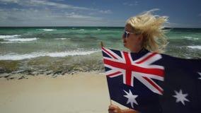 Skakać w Perth plaży zbiory