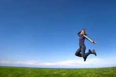 skakać Fotografia Stock