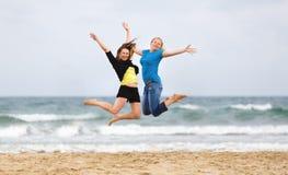 skakać dziewczyn Fotografia Stock