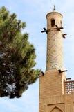 Skaka minaret Arkivfoto