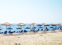 Skala beach, Kefalonia Royalty Free Stock Photo