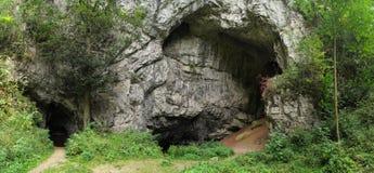 Skala de Byci de la cueva Imágenes de archivo libres de regalías