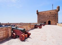 Skala du Port in Essaouira, Morocco Stock Photography