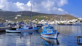 Free Skala Harbor On Patmos Island Royalty Free Stock Photography - 49602387