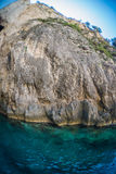Skala i Zakynthos, Grekland Arkivfoto