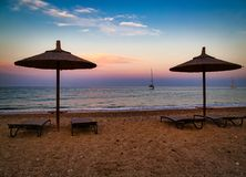 Skala, Kefalonia, Grecia fotografia stock