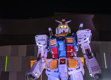 1:1 skala mobilny kostium Gundam Obraz Royalty Free