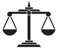 Skala sprawiedliwość ilustracji
