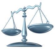 Skala von Gerechtigkeit Lizenzfreie Stockfotografie