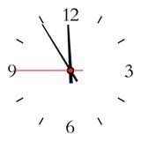 Skala von Stunden Stockfotografie